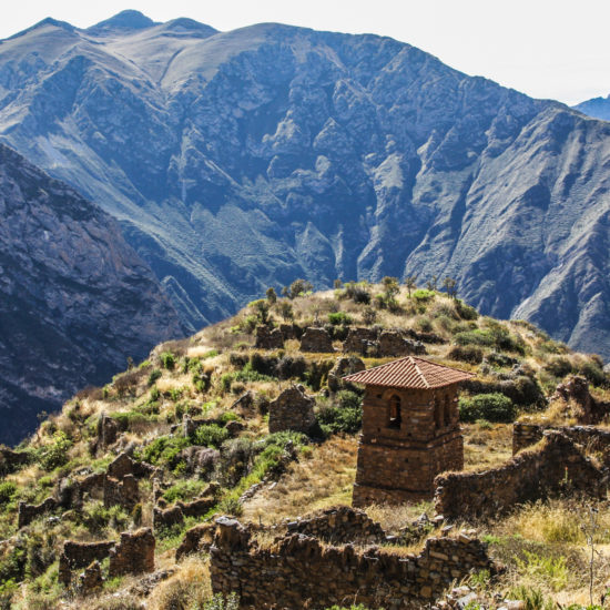 Tour nevado Ticlla : village de Miraflores