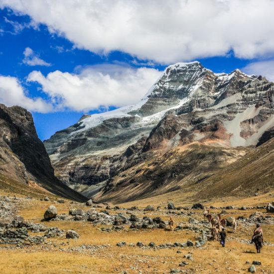 Tour du nevado Ticlla