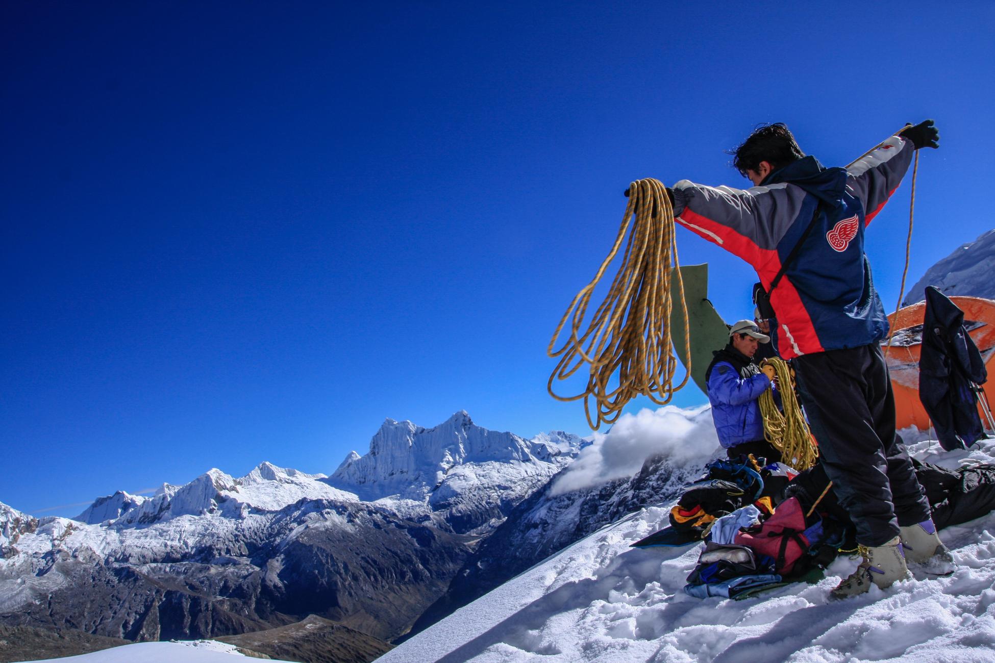 Ascensions au Pérou et en Bolivie