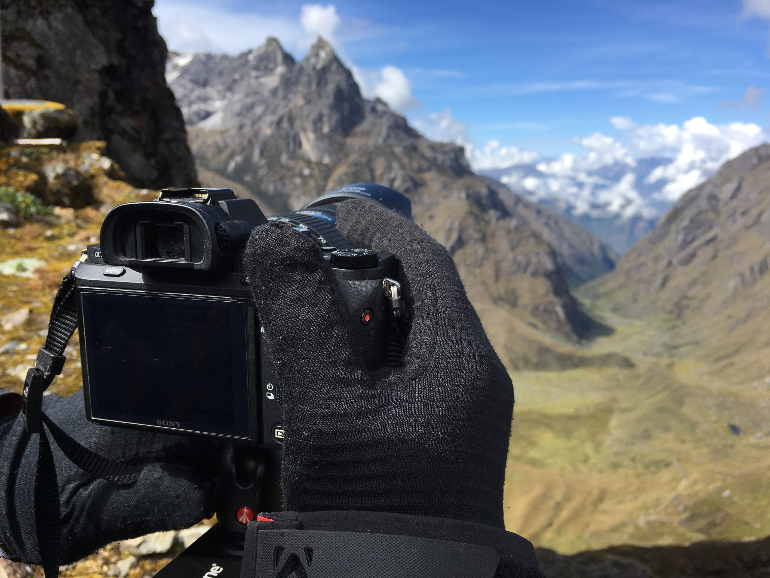 Fixeur dans les Andes