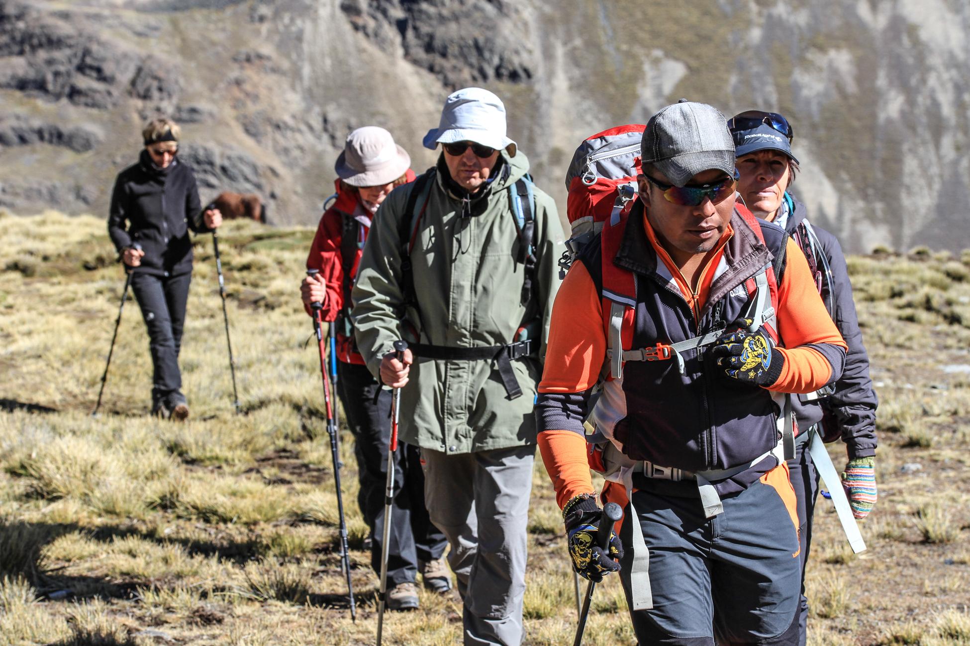 Trek Amérique du Sud