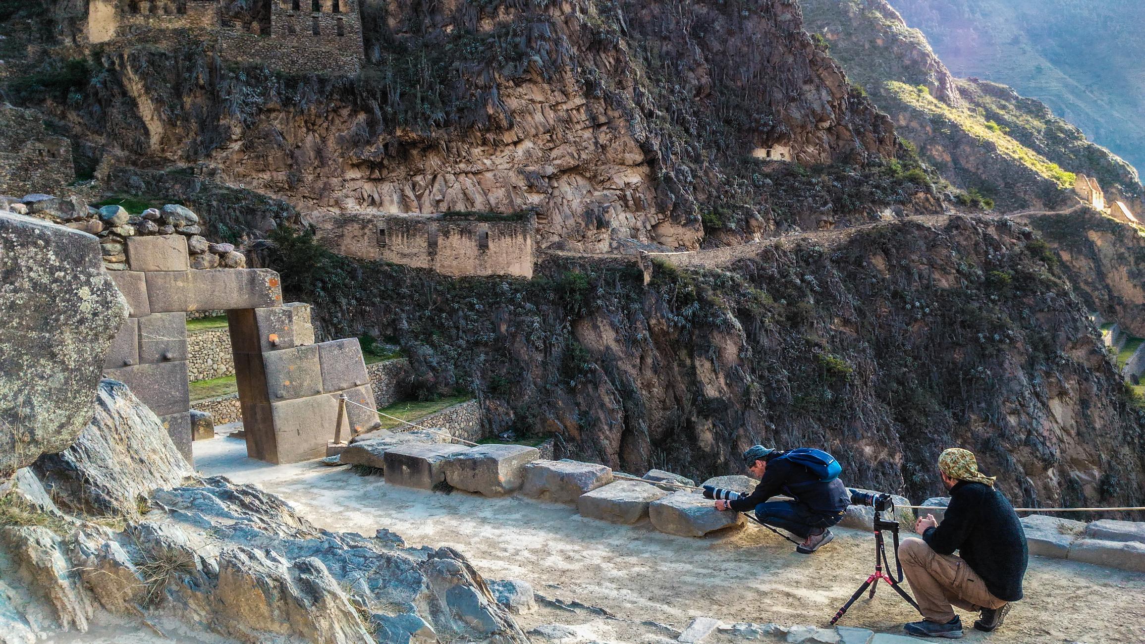 Production audiovisuelle à Cusco
