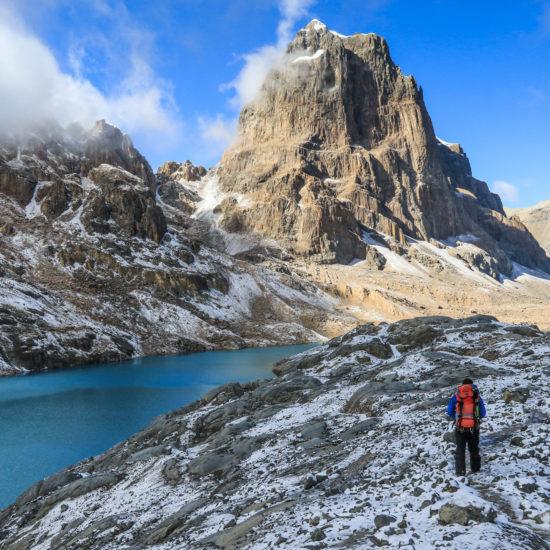 Route alpine de Huyahuash