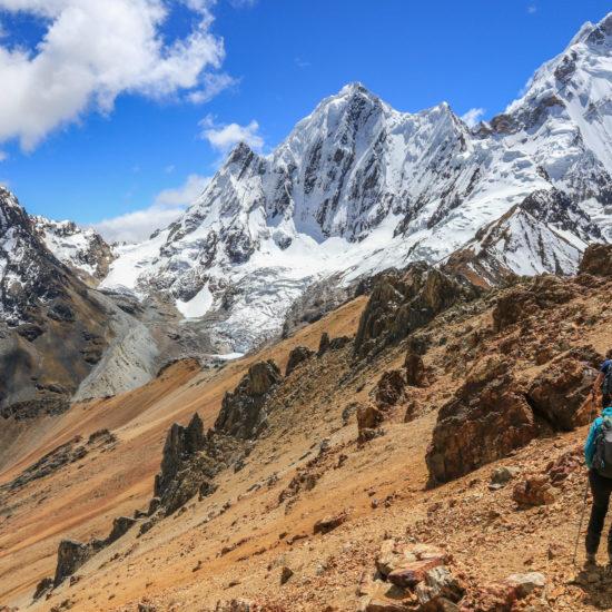 Route alpine de Huayhuash