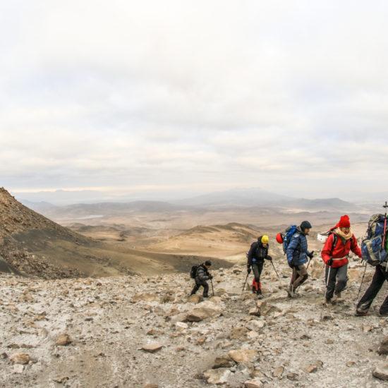Ascension volcan Ubinas