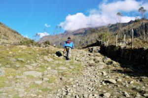 Chemin inca de Chungui