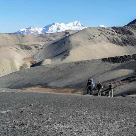 Trekking cordillère Royale