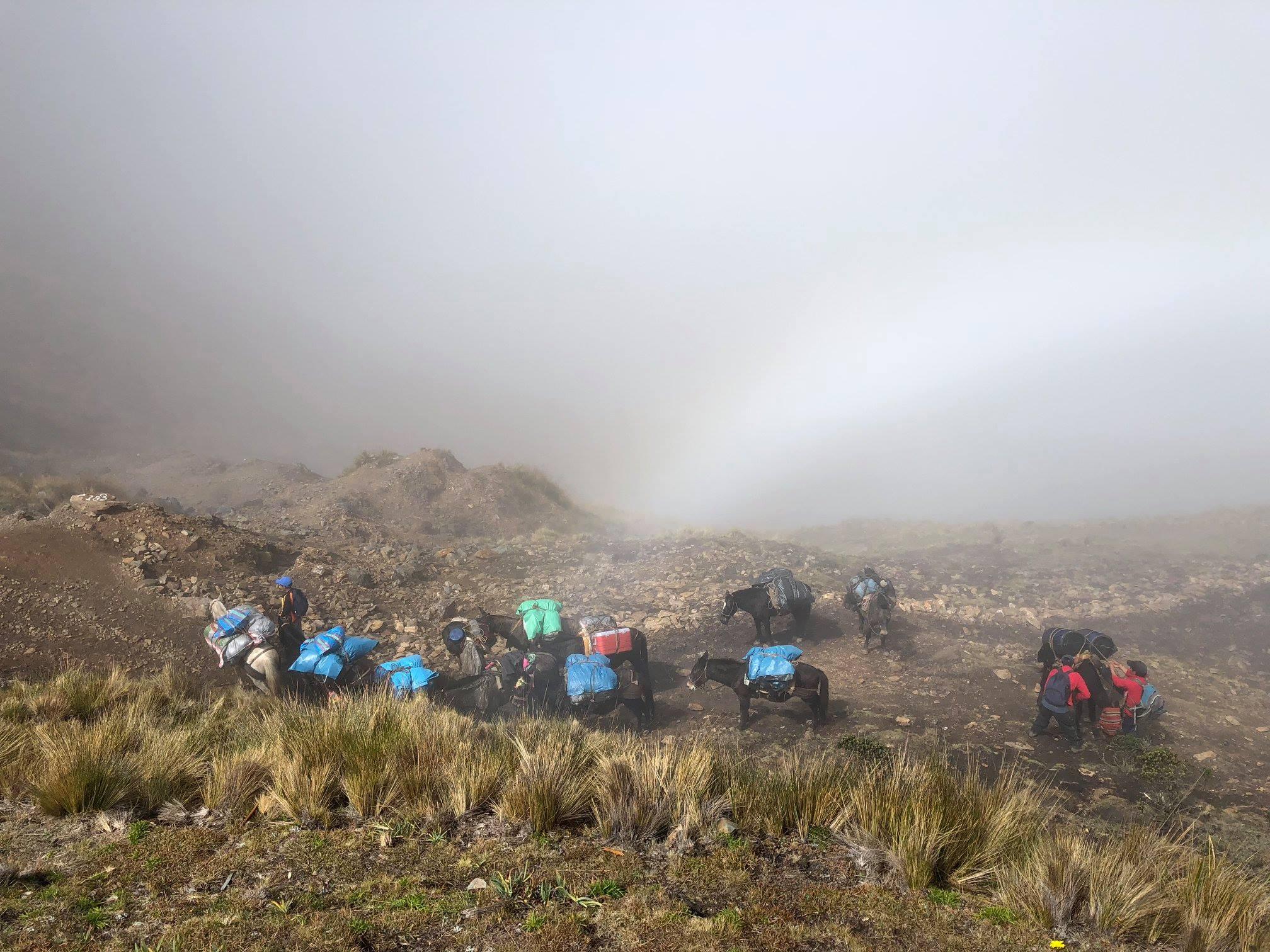 Grande traversée de Vilcabamba par la route inca