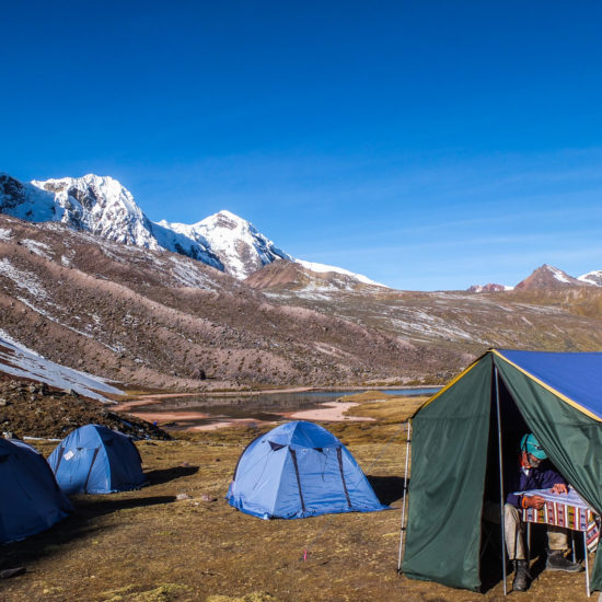 Vue sur le massif de Tres Picos