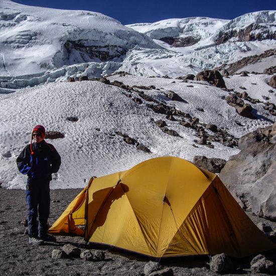 Camp de base du volcan Coropuna