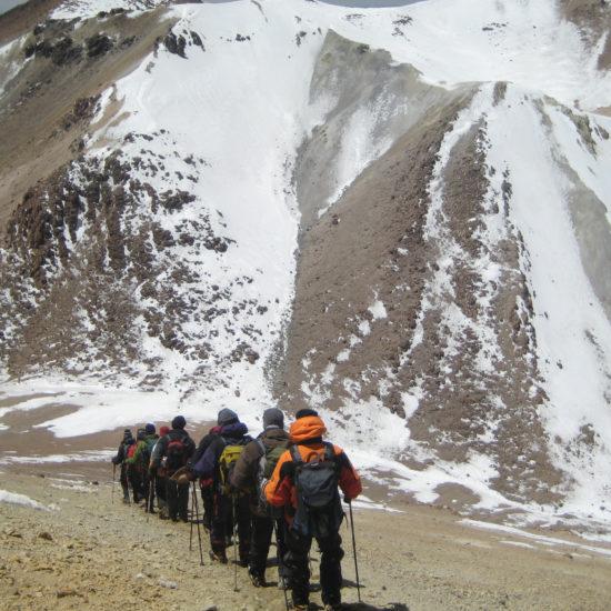 Ascension du Chachani