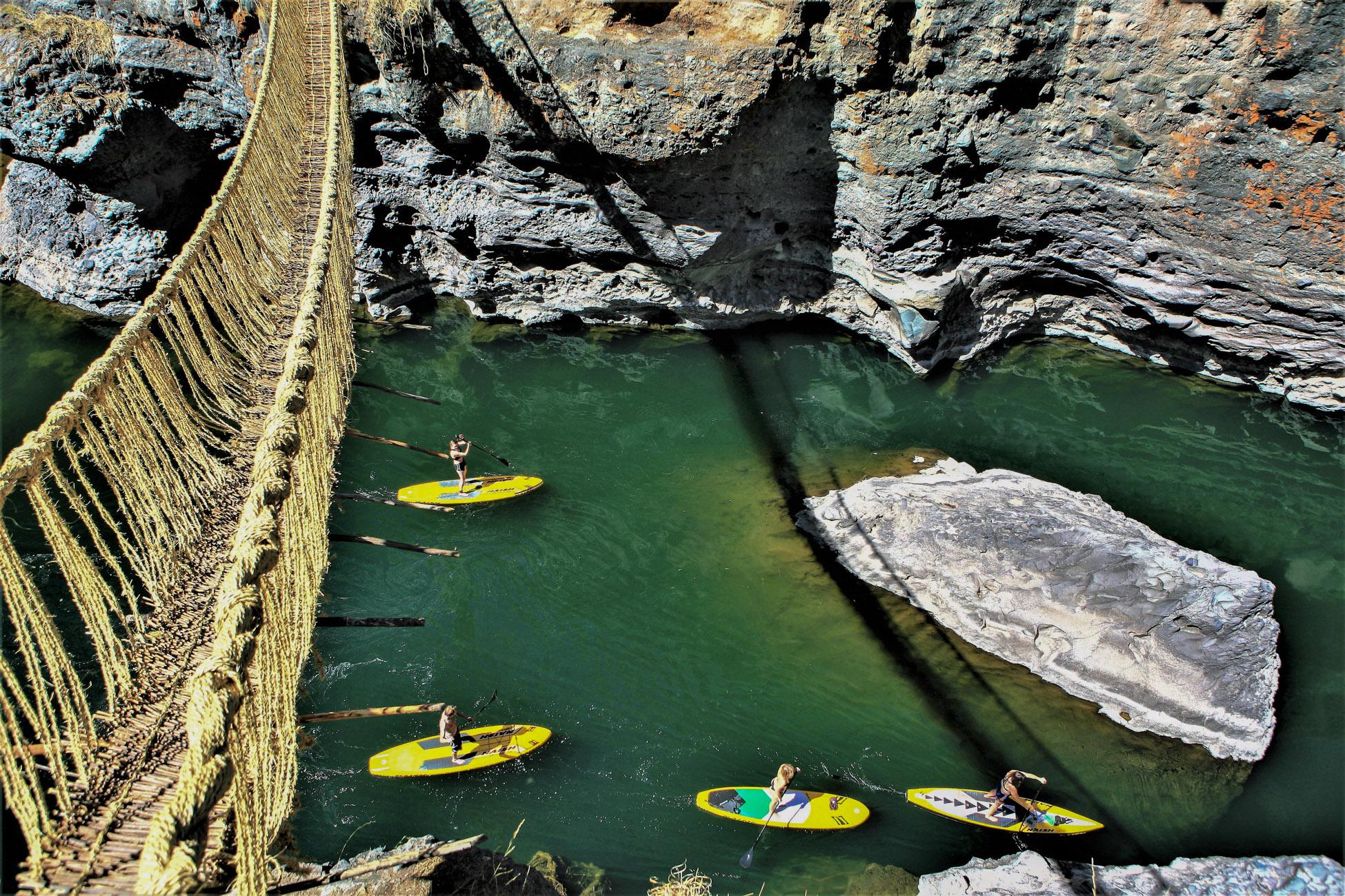 Paddle au Pérou