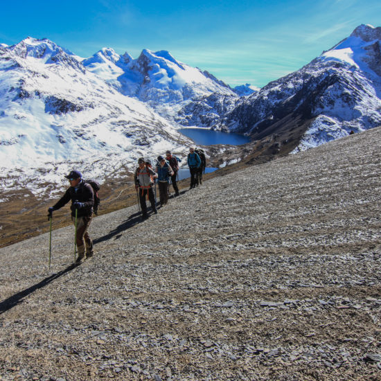 Trekking peak cordillère Royale