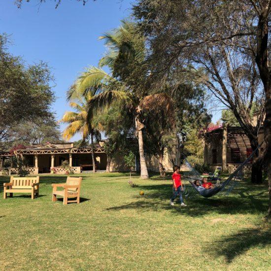 Nord Pérou en 4x4: hôtel jouxtant Tucume