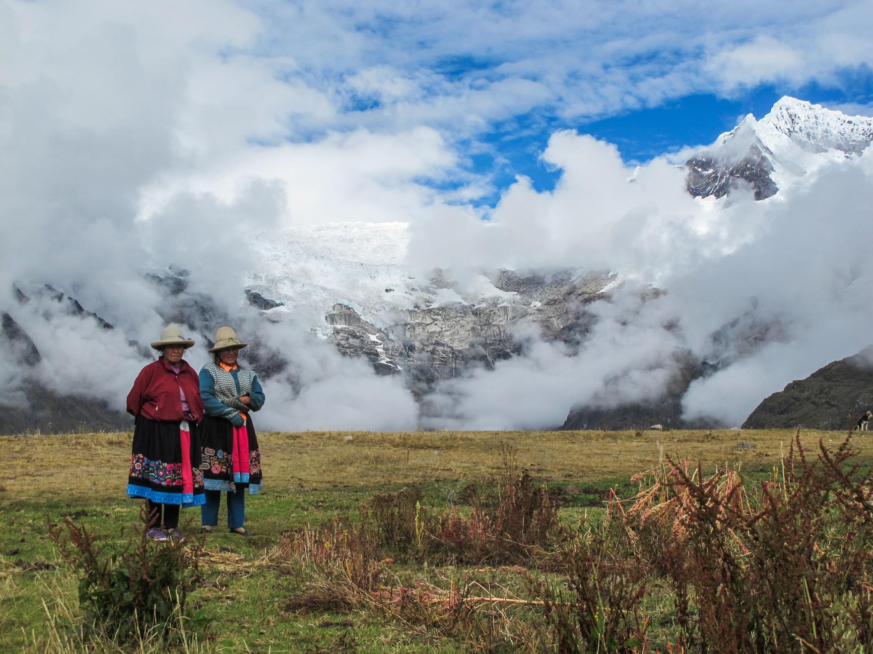 Trek tour de l'Alpamayo