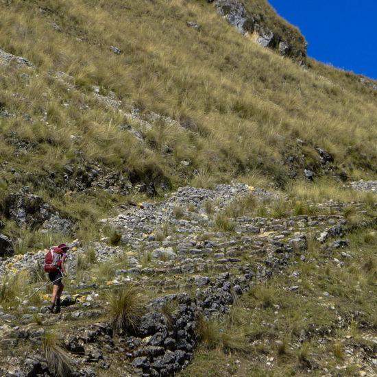 Qhapaq Ñan au rio Lauricocha