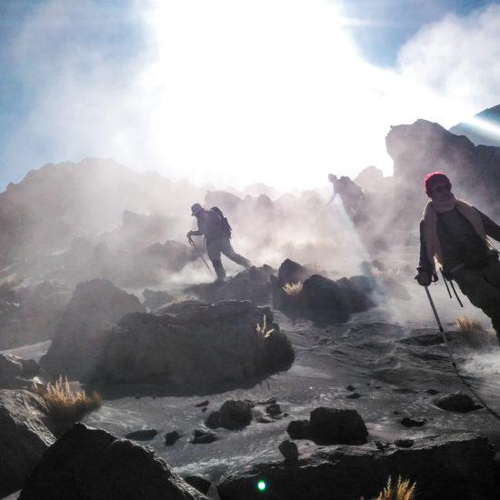 Ascension du volcan Ubinas