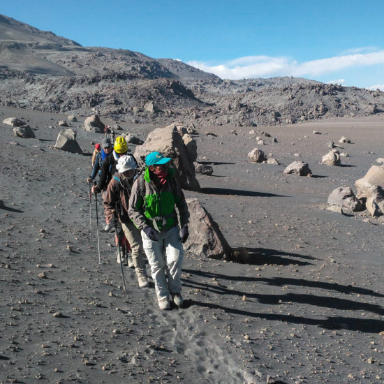 Ascension du volcan Chachani