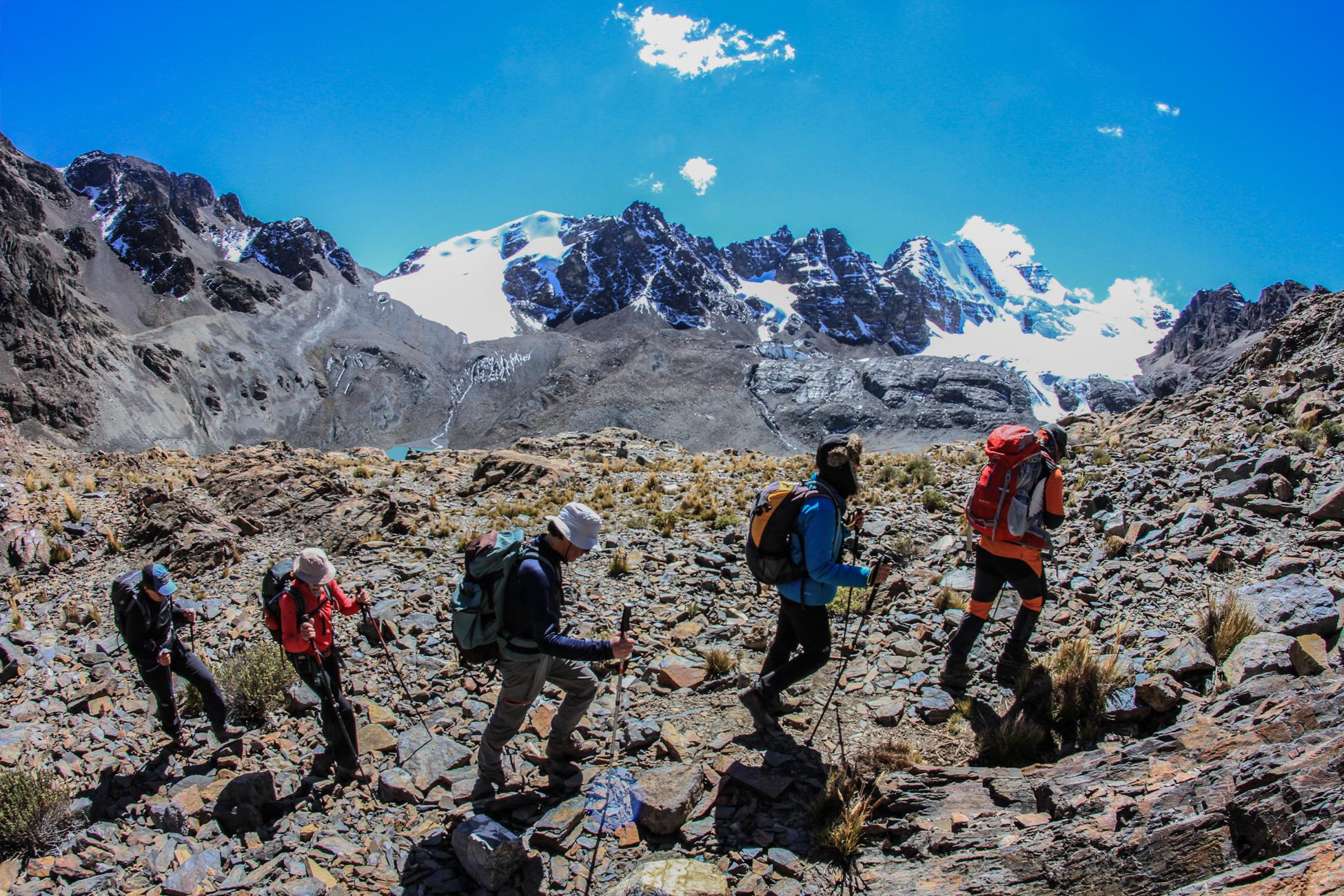 Treks en Bolivie