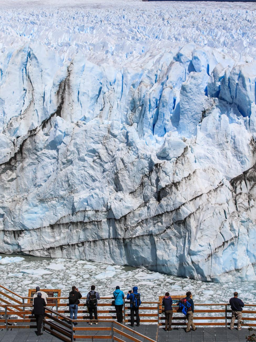 Face au Perito Moreno