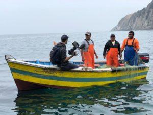 Tournage d'Echappées Belles au Pérou